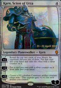 Karn, Scion of Urza - Prerelease