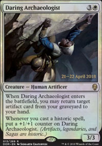 Daring Archaeologist - Prerelease Promos