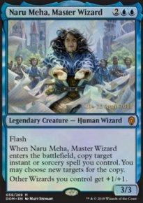 Naru Meha, Master Wizard - Prerelease Promos