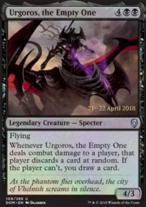 Urgoros, the Empty One - Prerelease