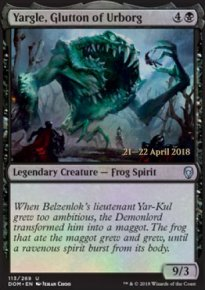 Yargle, Glutton of Urborg - Prerelease