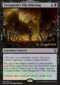 Yawgmoth's Vile Offering - Prerelease
