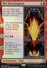 The First Eruption - Prerelease