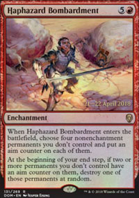 Haphazard Bombardment - Prerelease