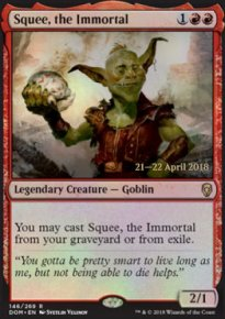 Squee, the Immortal - Prerelease
