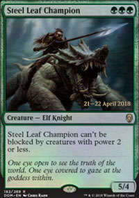 Steel Leaf Champion - Prerelease