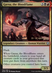 Garna, the Bloodflame - Prerelease