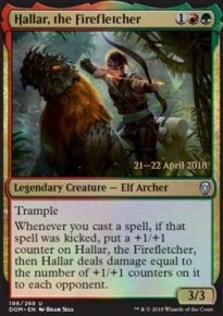 Hallar, the Firefletcher - Prerelease