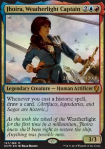 Jhoira, Weatherlight Captain - Prerelease