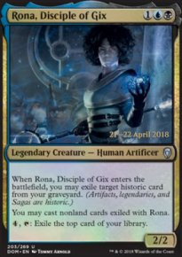 Rona, Disciple of Gix - Prerelease