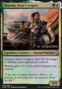 Shanna, Sisay's Legacy - Prerelease Promos