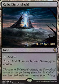 Cabal Stronghold - Prerelease