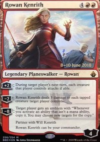 Rowan Kenrith - Prerelease