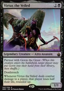 Virtus the Veiled - Prerelease