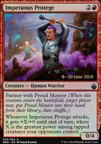 Impetuous Protege - Prerelease Promos