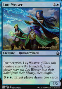 Lore Weaver - Prerelease