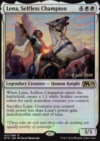 Lena, Selfless Champion - Prerelease