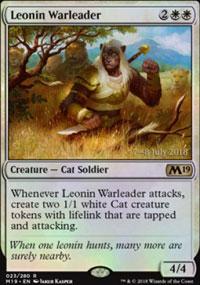 Leonin Warleader - Prerelease Promos