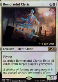 Remorseful Cleric - Prerelease