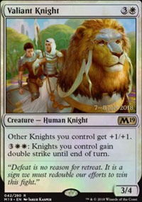 Valiant Knight - Prerelease