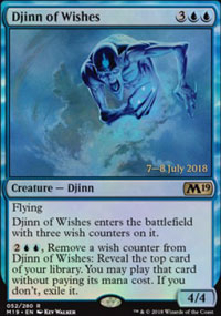 Djinn of Wishes - Prerelease