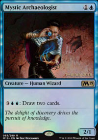 Mystic Archaeologist - Prerelease Promos