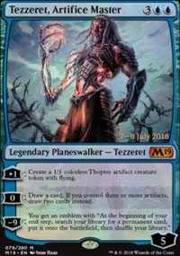 Tezzeret, Artifice Master - Prerelease