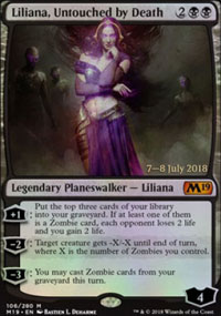 Liliana, Untouched by Death - Prerelease