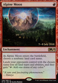 Alpine Moon - Prerelease