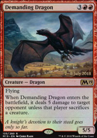 Demanding Dragon - Prerelease