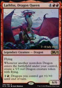 Lathliss, Dragon Queen - Prerelease Promos