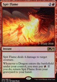 Spit Flame - Prerelease Promos