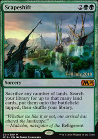 Scapeshift - Prerelease