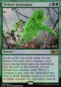 Vivien's Invocation - Prerelease