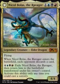 Nicol Bolas, the Ravager - Prerelease