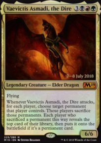 Vaevictis Asmadi, the Dire - Prerelease