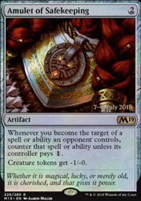 Amulet of Safekeeping - Prerelease