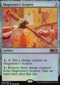 Magistrate's Scepter - Prerelease
