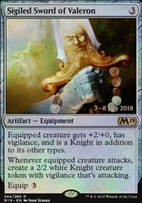 Sigiled Sword of Valeron - Prerelease