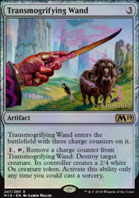 Transmogrifying Wand - Prerelease Promos