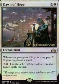 Dawn of Hope - Prerelease