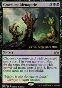 Gruesome Menagerie - Prerelease Promos