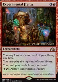 Experimental Frenzy - Prerelease