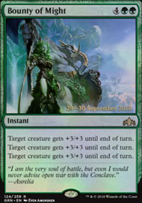 Bounty of Might - Prerelease