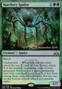 Hatchery Spider - Prerelease