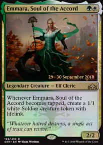 Emmara, Soul of the Accord - Prerelease