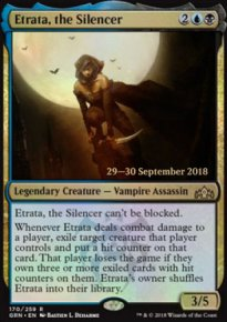 Etrata, the Silencer - Prerelease Promos