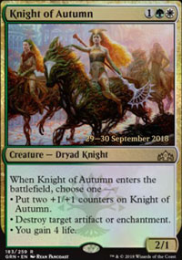 Knight of Autumn - Prerelease