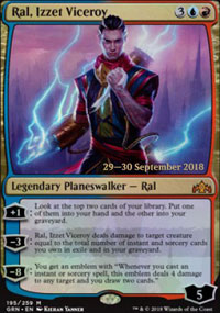 Ral, Izzet Viceroy - Prerelease Promos