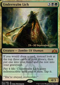 Underrealm Lich - Prerelease